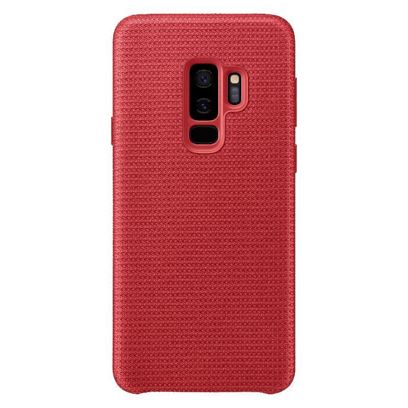 SAMSUNG Galaxy S9+網狀織布背蓋  紅色