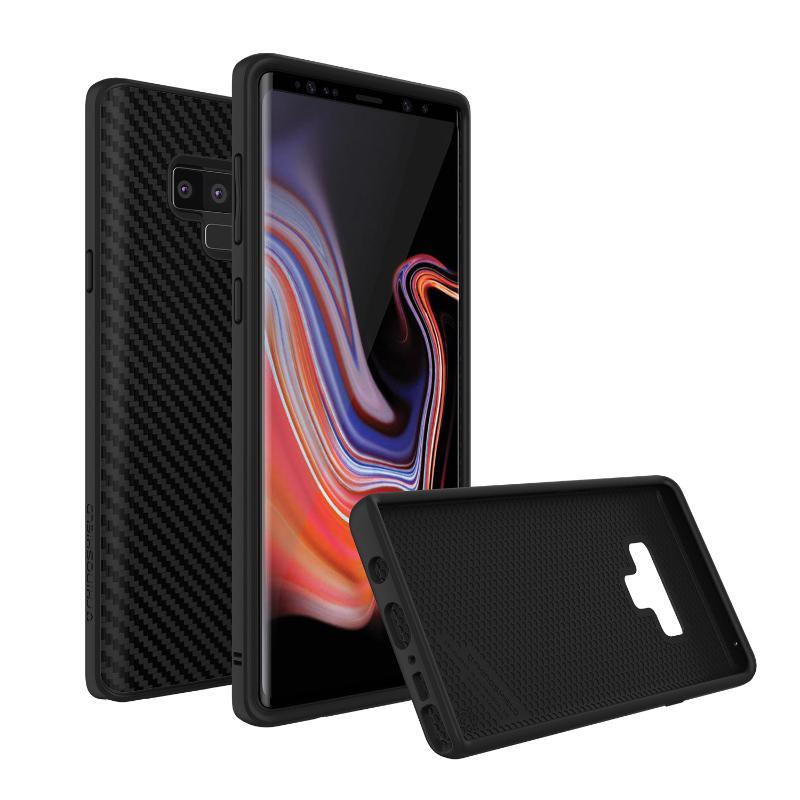 犀牛盾SolidSuit碳纖維背蓋手機殼SAMSUNG Note9 碳纖維黑