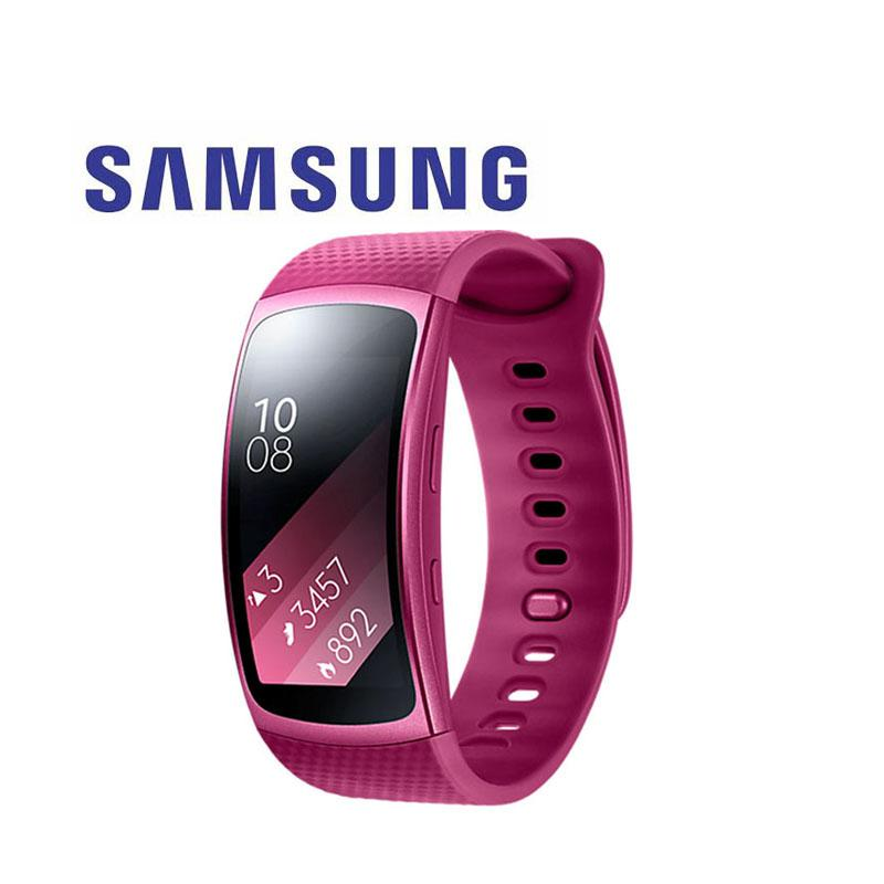 藍芽手環 Samsung Gear Fit2 炫盈紅
