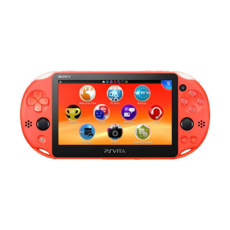 SONY PS Vita 主機 霓虹橘 (PCH2007 ZA24)