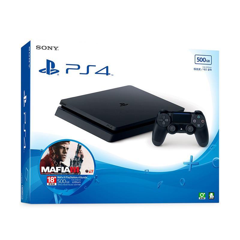 SONY PS4 500GB 四海兄弟 MAFIA III 主機同捆組