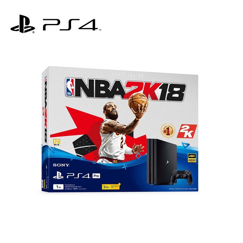 SONY PS4 Pro NBA 2K18 同捆組