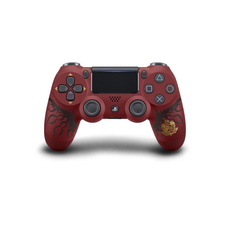 PS4 無線控制器 (DualShock4) 魔物獵人特仕版