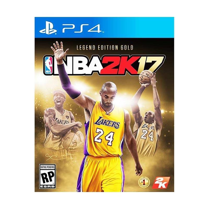 PS4 NBA 2K17中英文黃金版