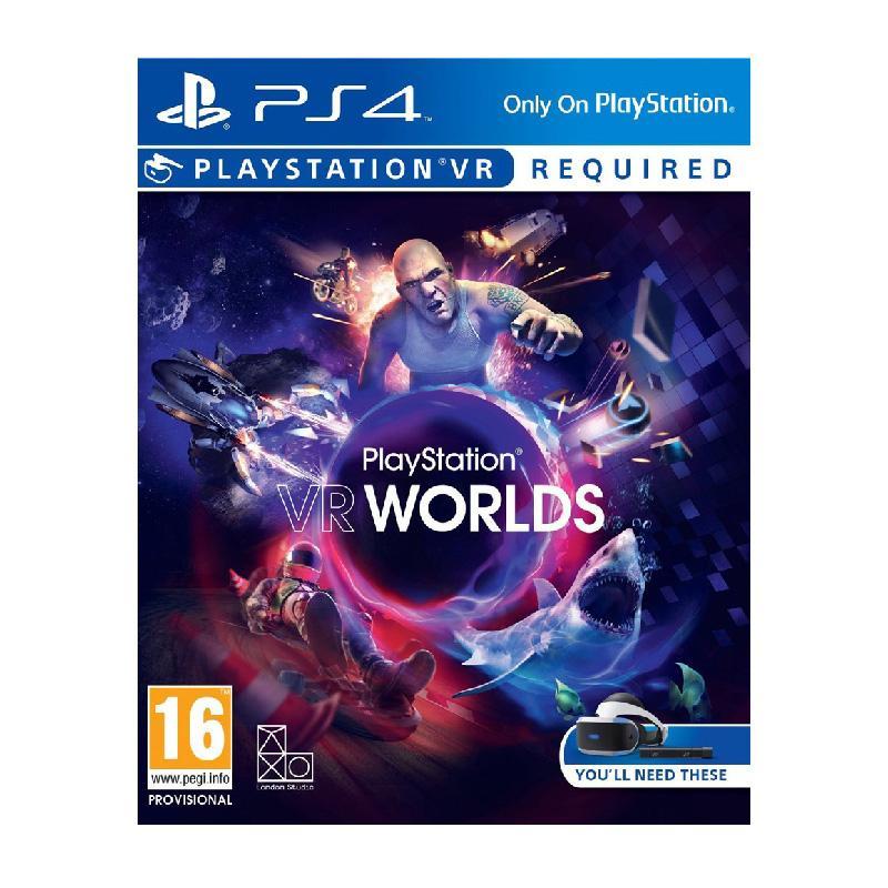 PS4 PlayStation VR WORLDS 中文版 (VR專用)