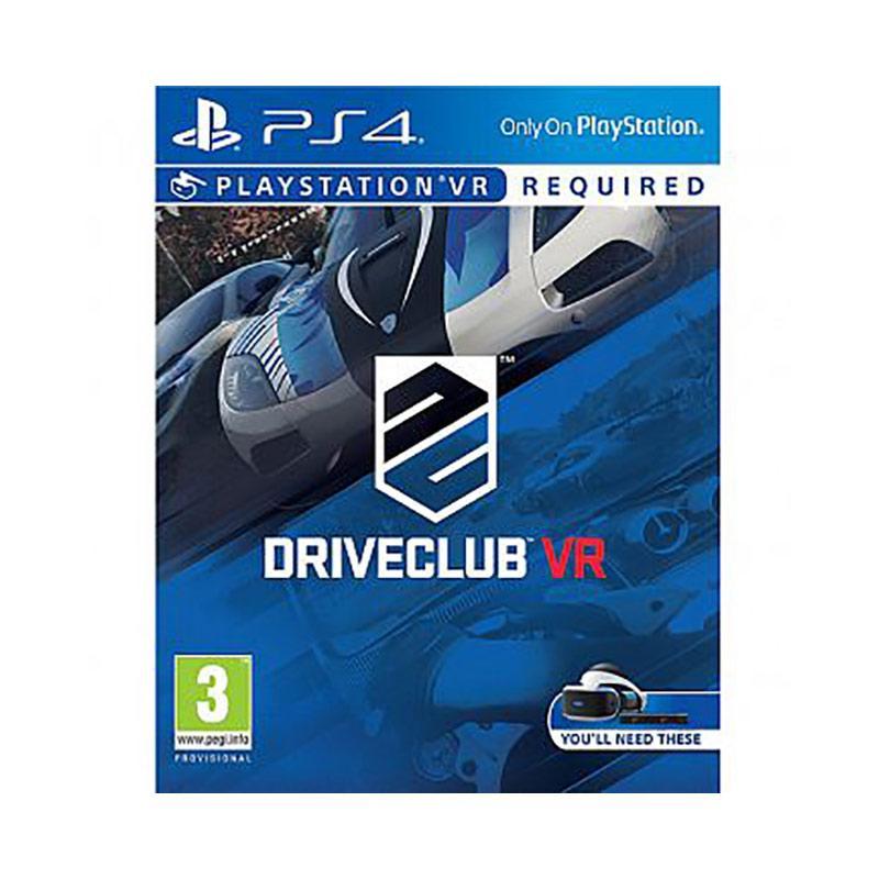 PS4 VR專用 駕駛俱樂部 中文版