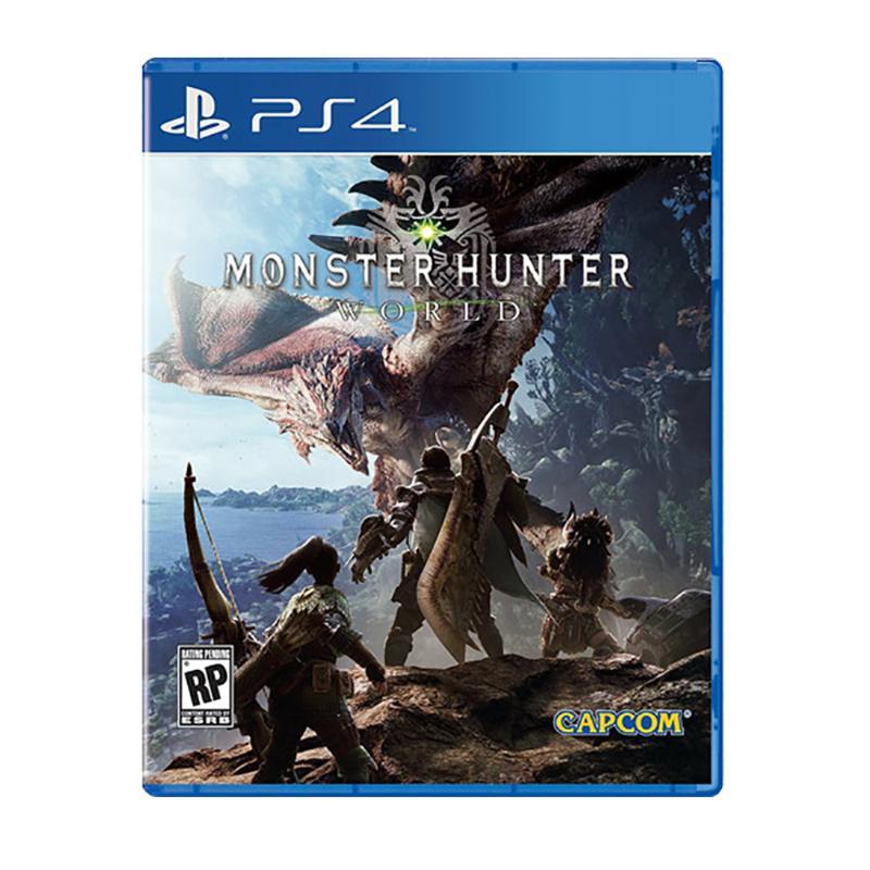 PS4 魔物獵人 世界 亞版 英日(中)版