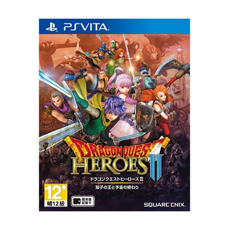PS Vita 勇者鬥惡龍HEROES 2怪物金幣中文版