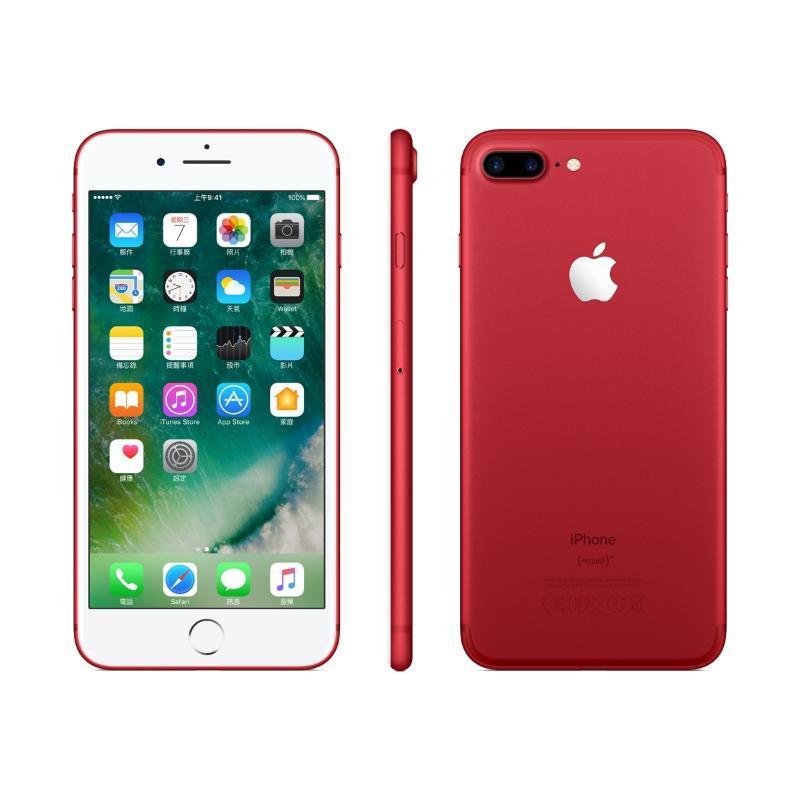 iPhone 7 Plus 紅 256GB【限時↘$500/加贈$1480保護組】