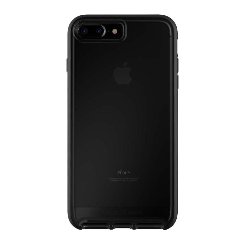 Tech 21超衝擊EVO ELITE防撞軟質保護殼iPhone8 Plus/7 Plus 霧面黑