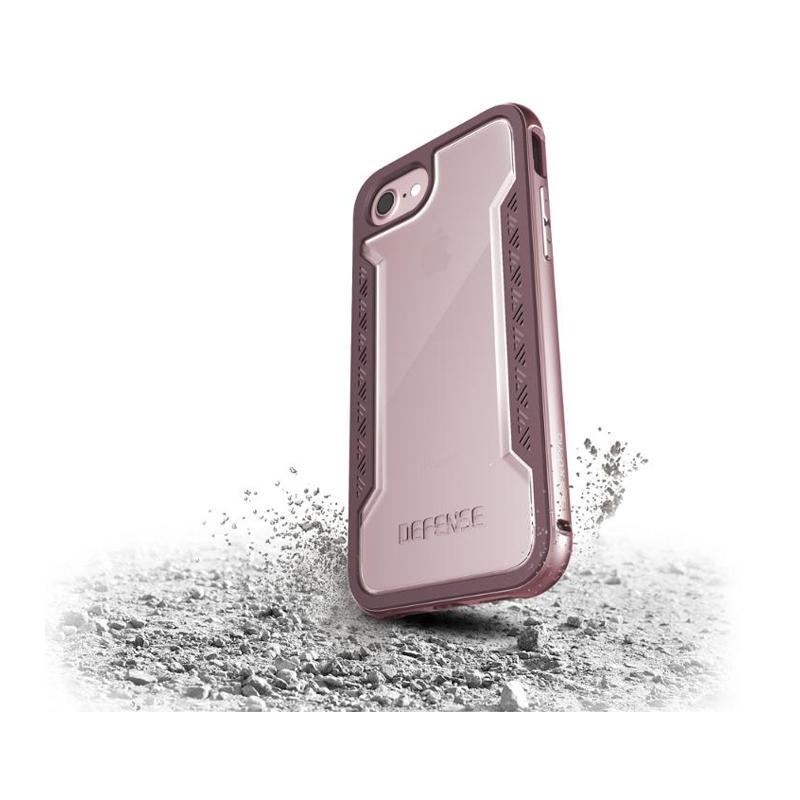 iPhone 7  X-doria刀鋒系列保護殼 玫瑰金
