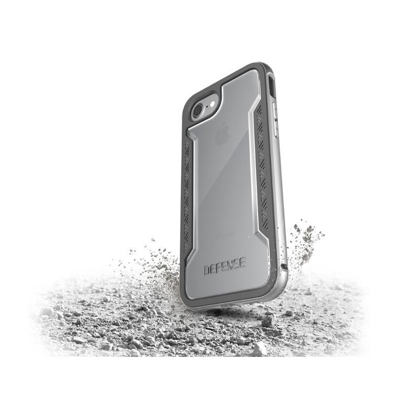 iPhone 7 X-doria刀鋒系列保護殼 銀