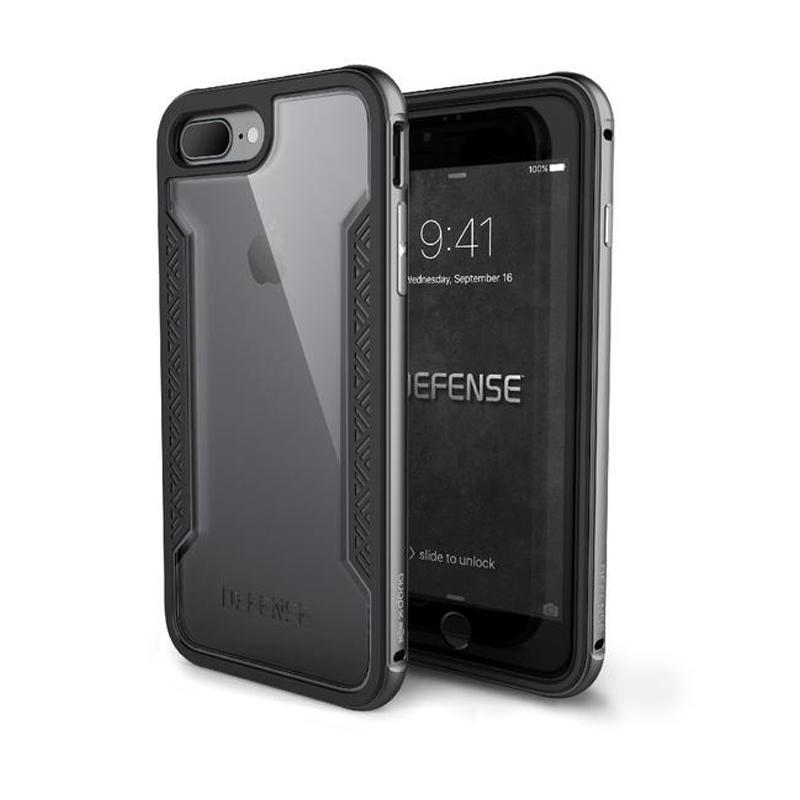 X-doria 刀鋒系列保護殼  iPhone 7 太空灰