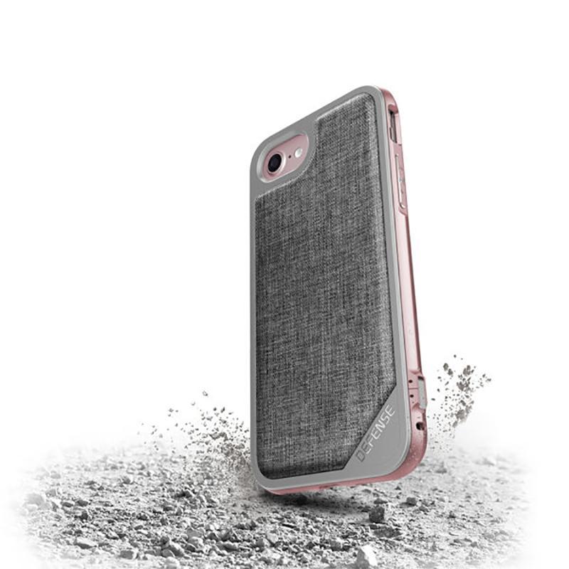 iPhone 7 X-doria奢華刀鋒系列保護殼 灰色織物