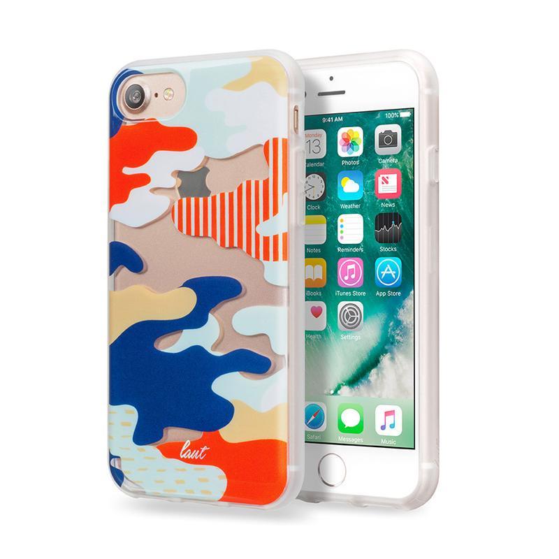 LAUT 迷彩系列保護殼 iPhone7 日本
