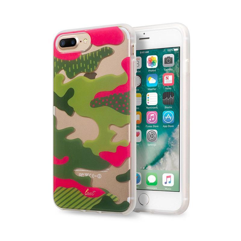 LAUT 迷彩系列保護殼 iPhone7 Plus 熱帶迷彩