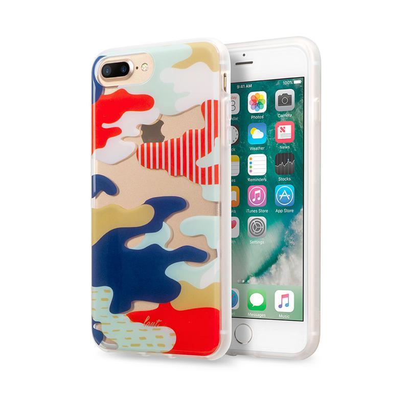 LAUT 迷彩系列保護殼 iPhone7 Plus 日本
