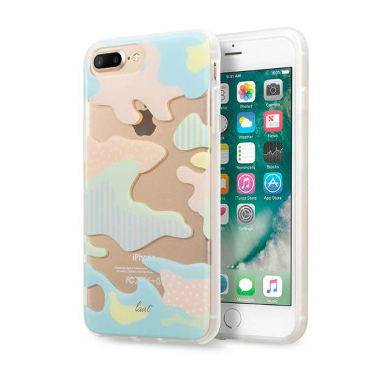 LAUT 迷彩系列保護殼 iPhone7 Plus 粉紅