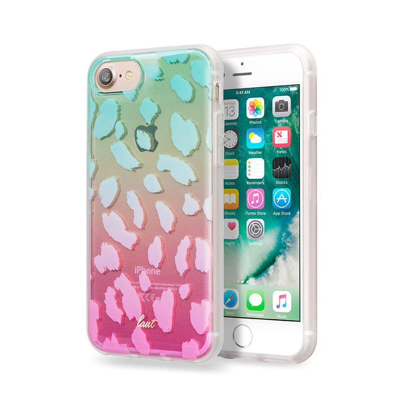 LAUT 漸層波浪系列保護殼 iPhone7 綠