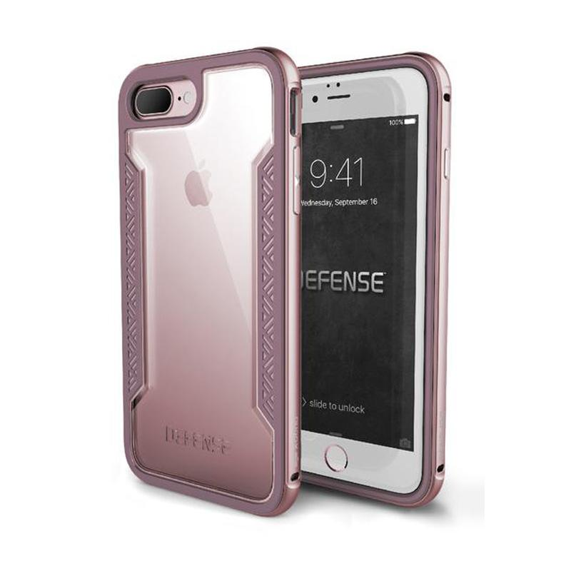 iPhone 7 Plus X-doria刀鋒系列保護殼 玫瑰金