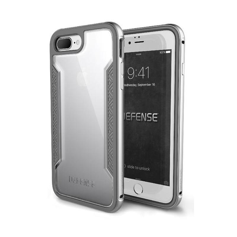 iPhone 7 Plus X-doria刀鋒系列保護殼 銀