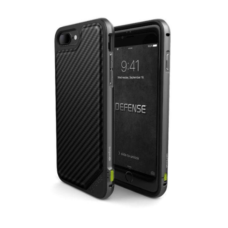 iPhone 7 Plus X-doria奢華刀鋒系列保護殼 黑碳纖維