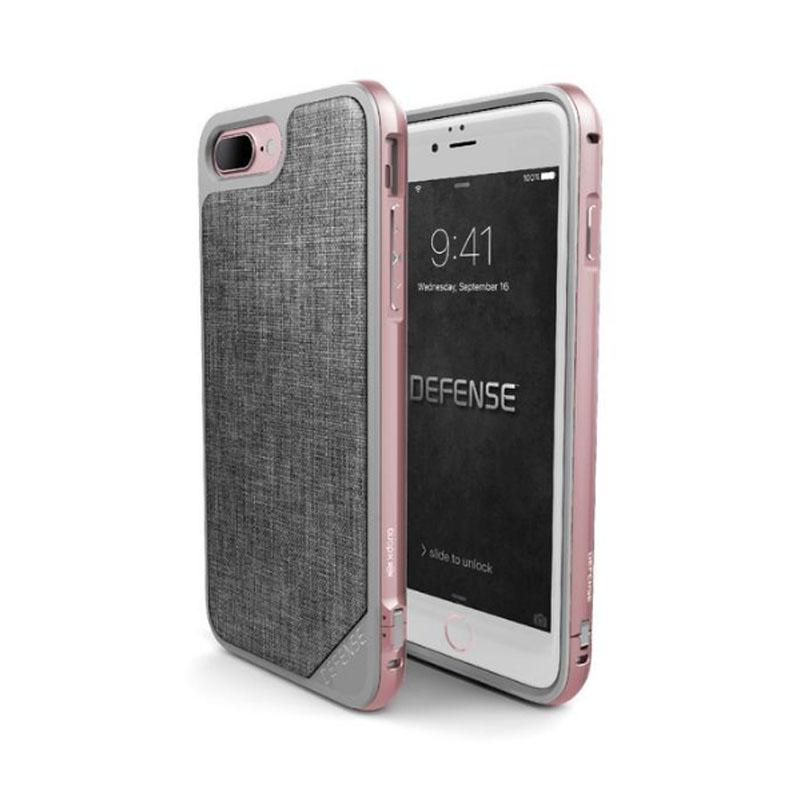 iPhone 7 Plus X-doria奢華刀鋒系列保護殼 灰色織物