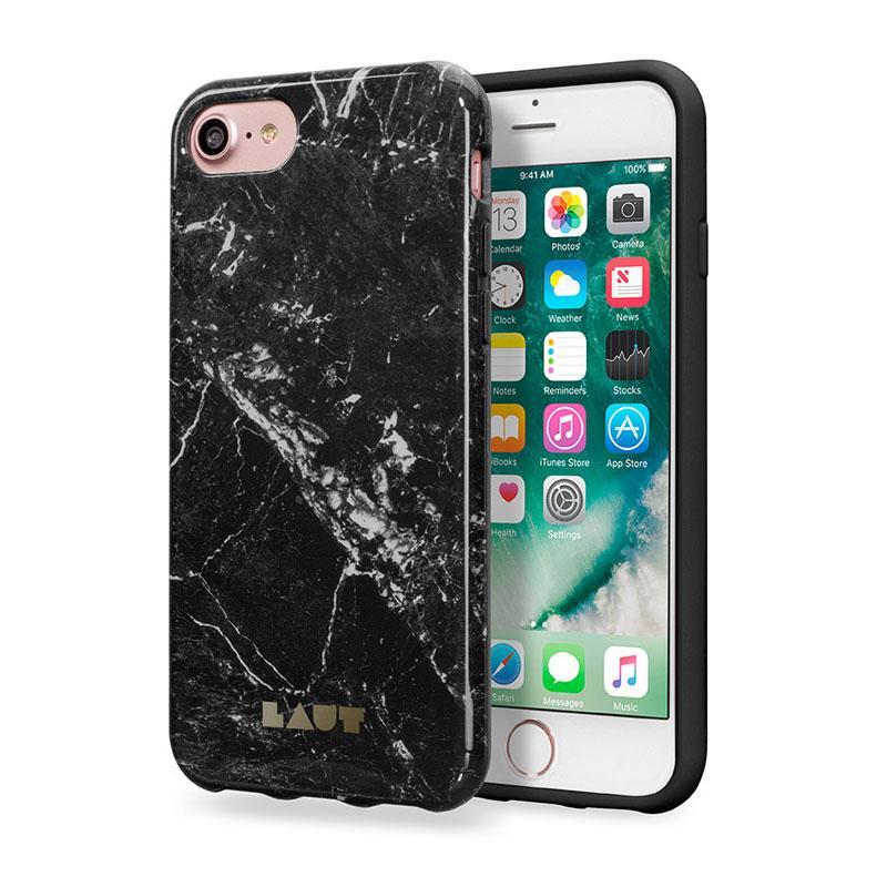 LAUT 大理石系列保護殼 iPhone7 黑