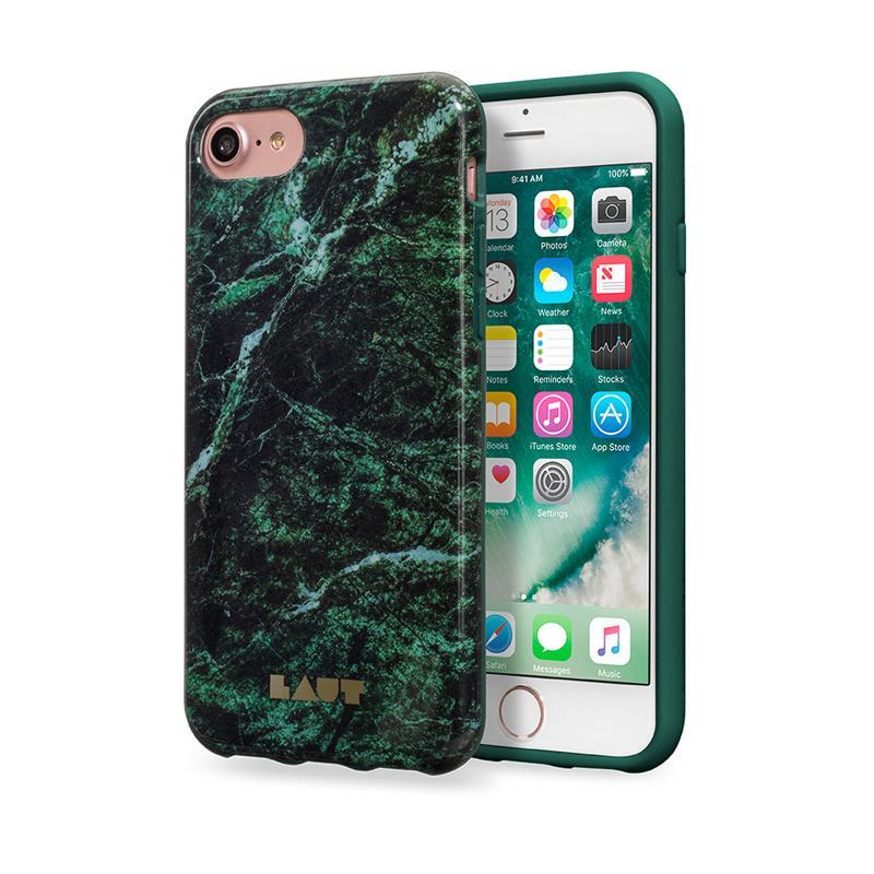 LAUT 大理石系列保護殼  iPhone  7 綠