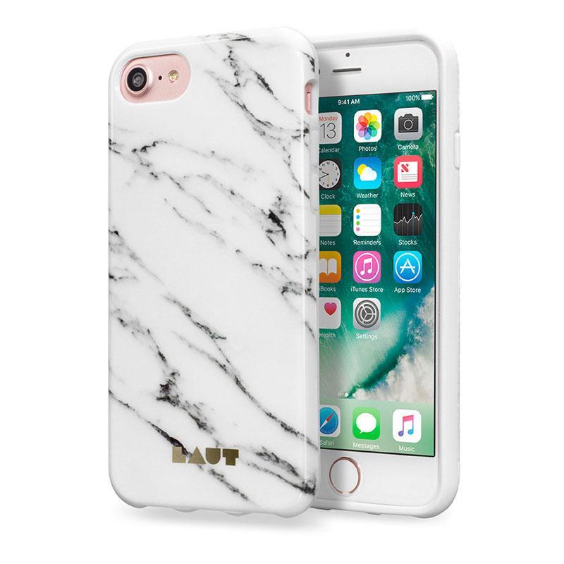 LAUT 大理石系列保護殼 iPhone7 白