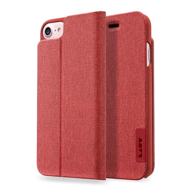 LAUT APEX-KNIT系列皮套 iPhone7 紅