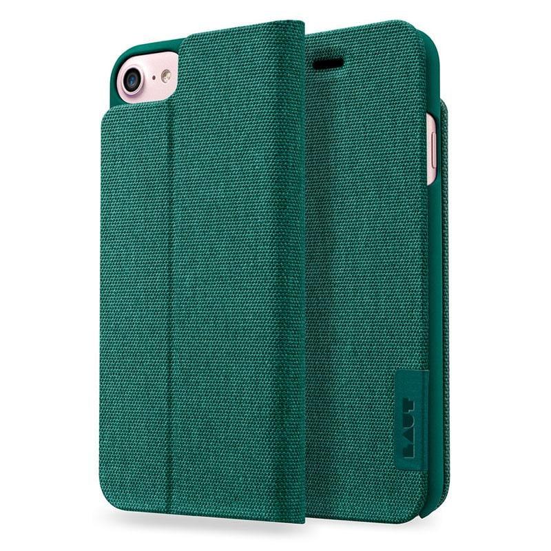 LAUT APEX-KNIT系列皮套 iPhone7 綠