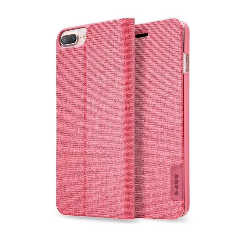 LAUT APEX-KNIT系列皮套 iPhone7 Plus 珊瑚紅