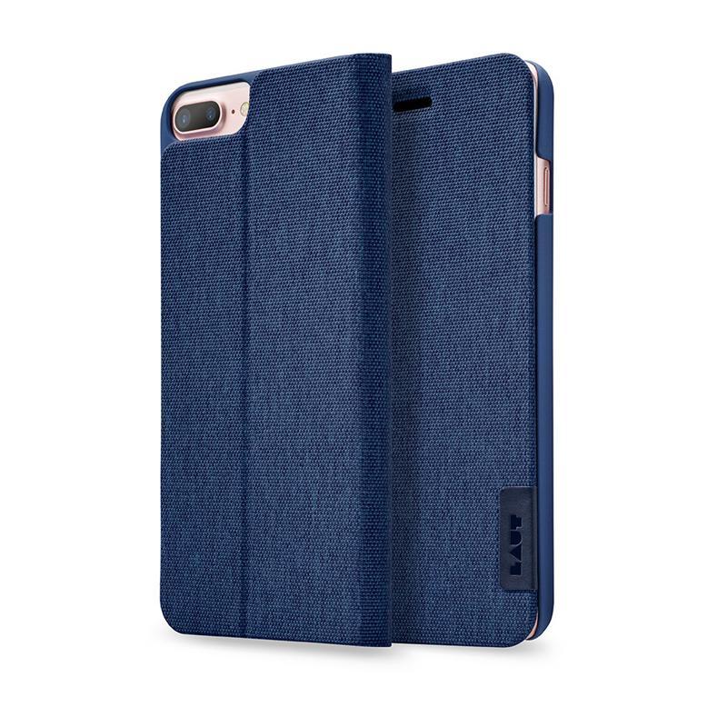 LAUT APEX-KNIT系列皮套 iPhone 7 Plus 藍