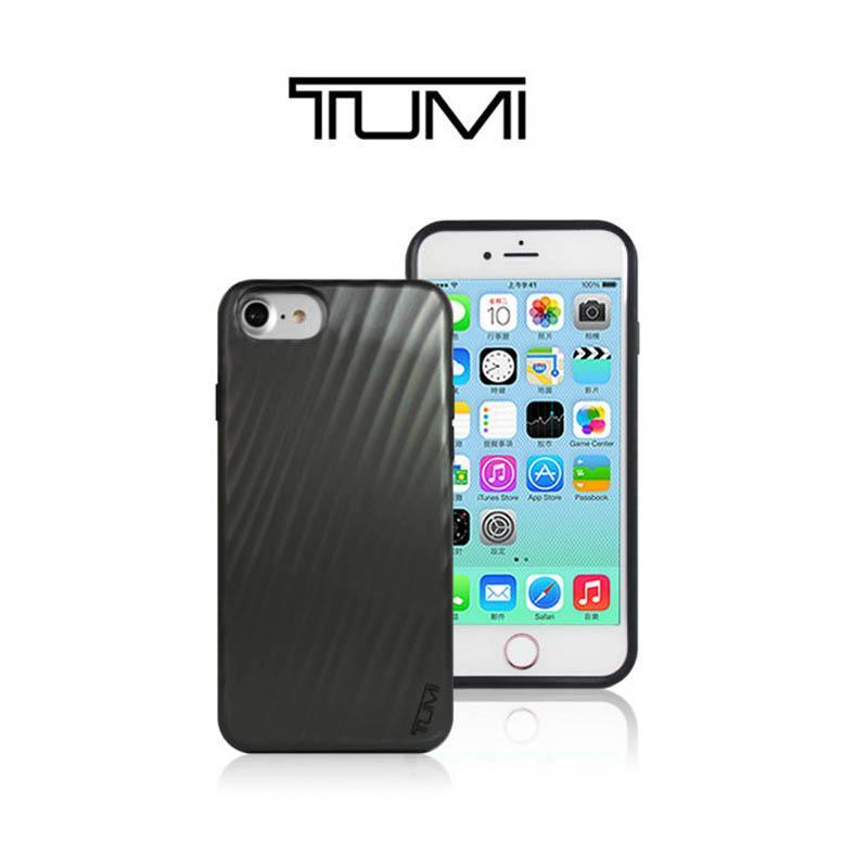 TUMI 黑色精簡時尚保護殼 iPhone7