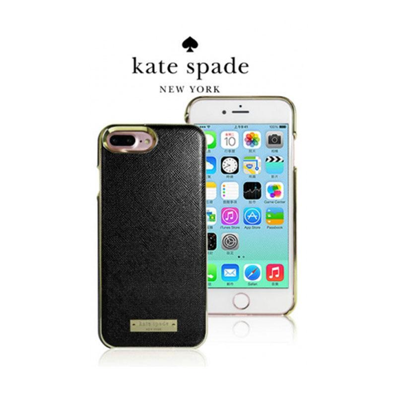 Kate Spade iPhone7 精典皮革保護殼 黑