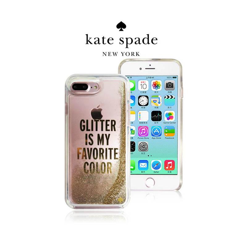 Kate Spade 金色夢幻流沙保護殼 iPhone7 Plus