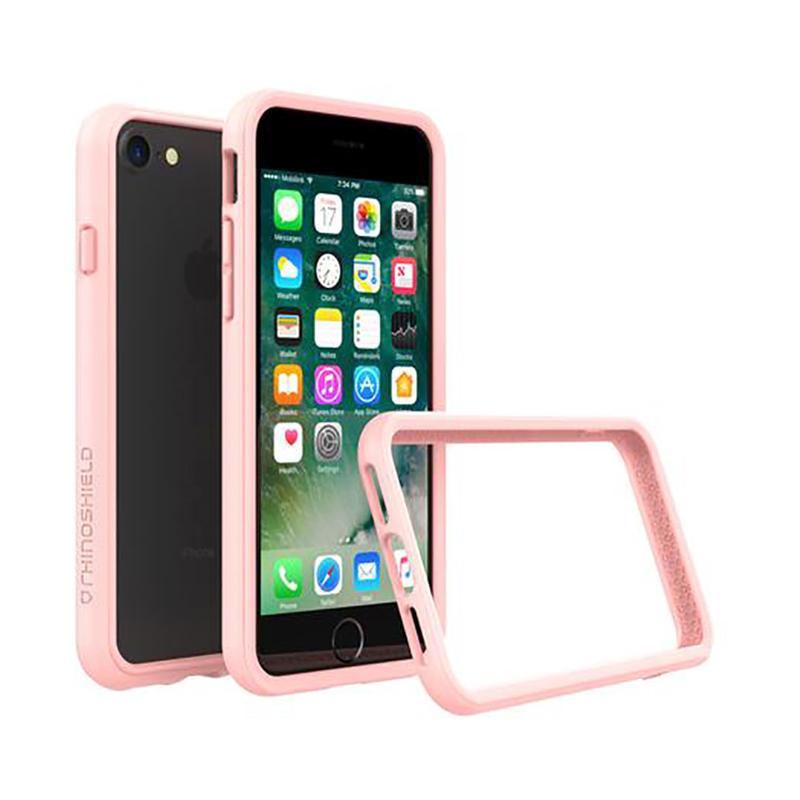 犀牛盾 iPhone 7 防摔邊框殼 裸粉