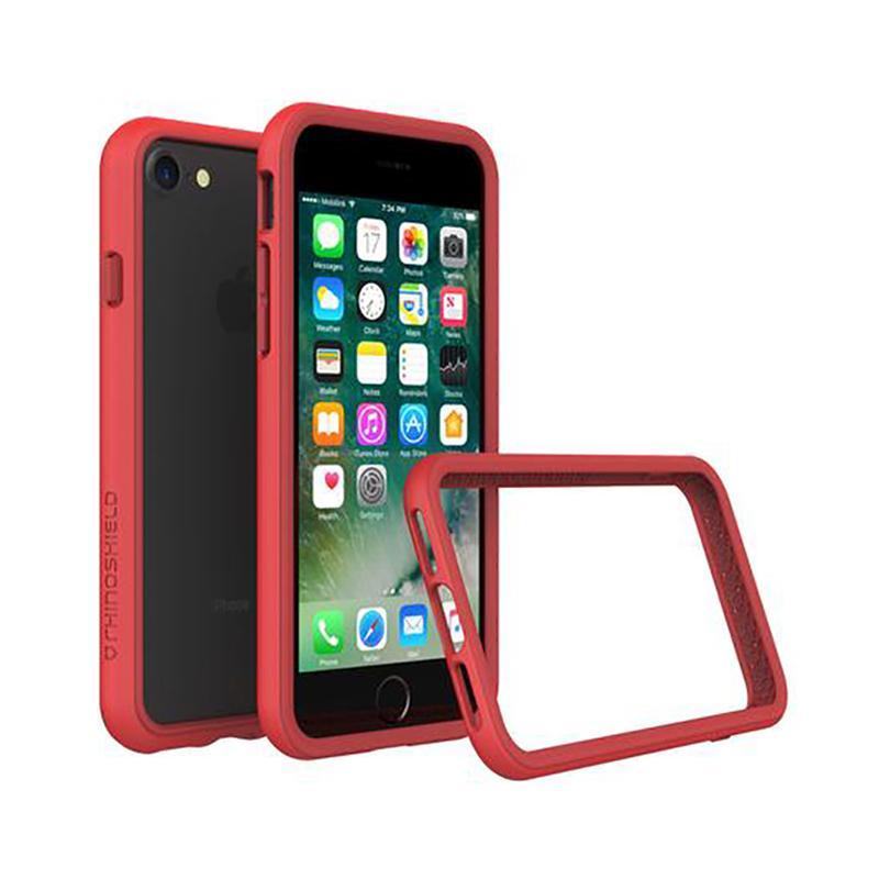 犀牛盾 iPhone 7 防摔邊框殼 紅