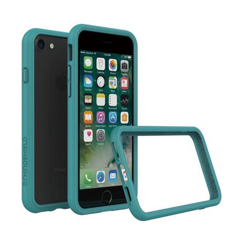 犀牛盾 iPhone7 防摔邊框殼 孔雀綠