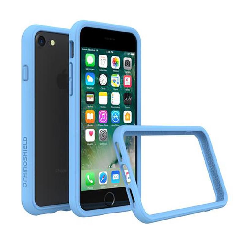 犀牛盾 iPhone7 防摔邊框殼 北卡藍