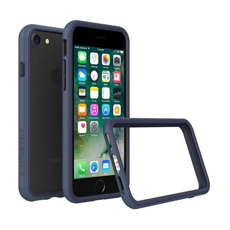 犀牛盾 iPhone7 防摔邊框殼 靛藍
