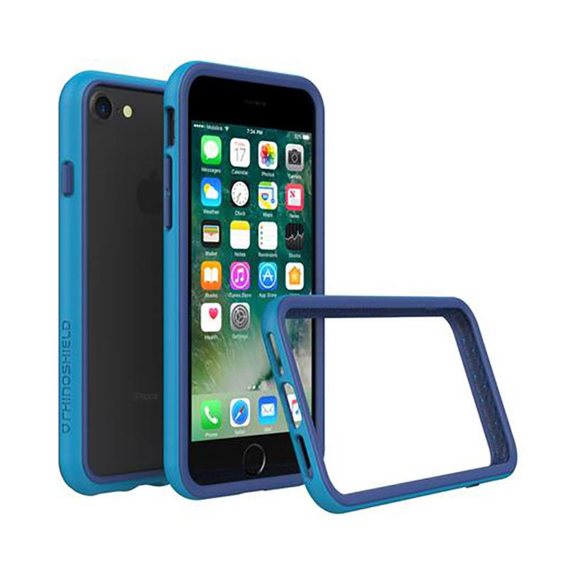 犀牛盾 iPhone7 防摔邊框殼 藍