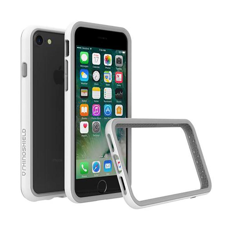 犀牛盾iPhone7 防摔邊框殼 白
