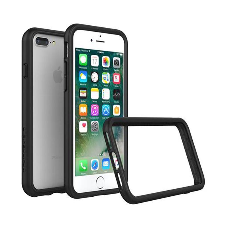 犀牛盾 iPhone 7 Plus防摔邊框殼 黑
