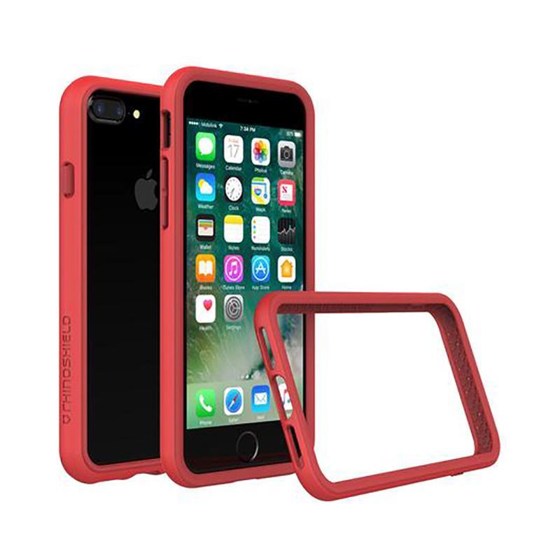 犀牛盾 iPhone 7 Plus防摔邊框殼 紅