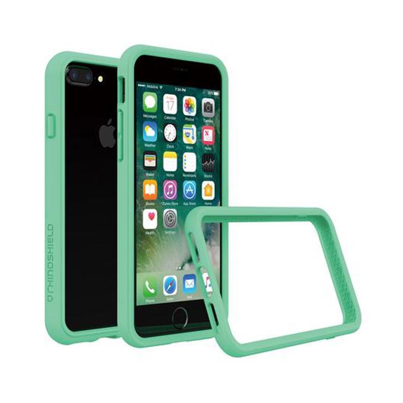 犀牛盾 iPhone 7 Plus防摔邊框殼 薄荷綠