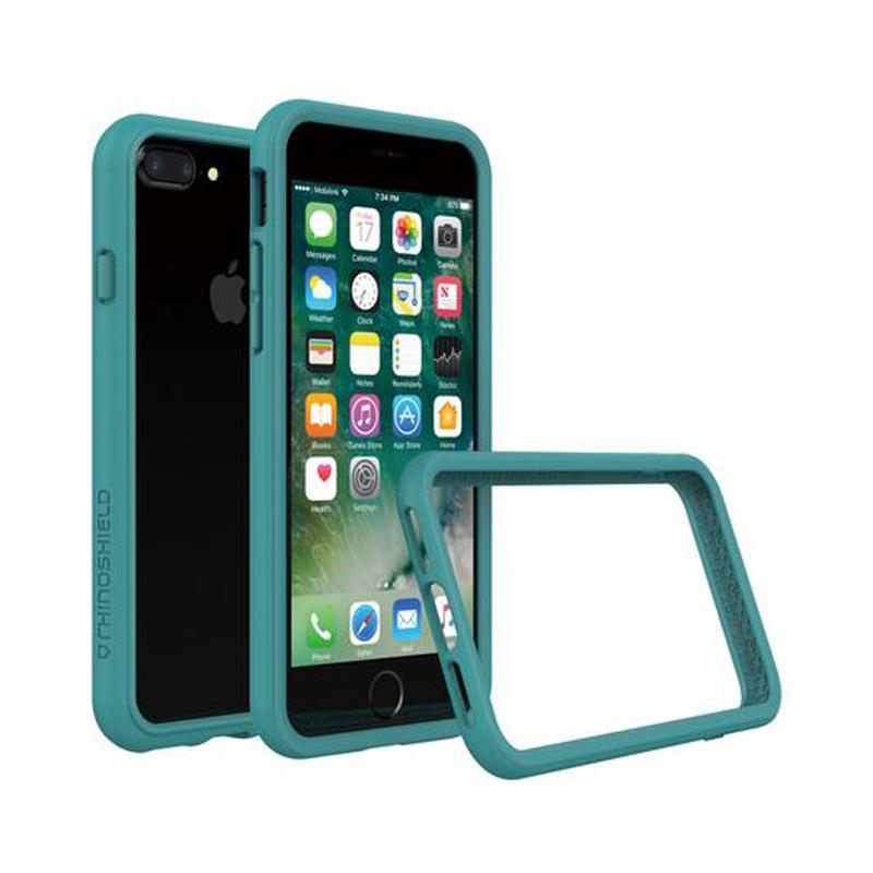犀牛盾 iPhone 7 Plus防摔邊框殼 孔雀綠