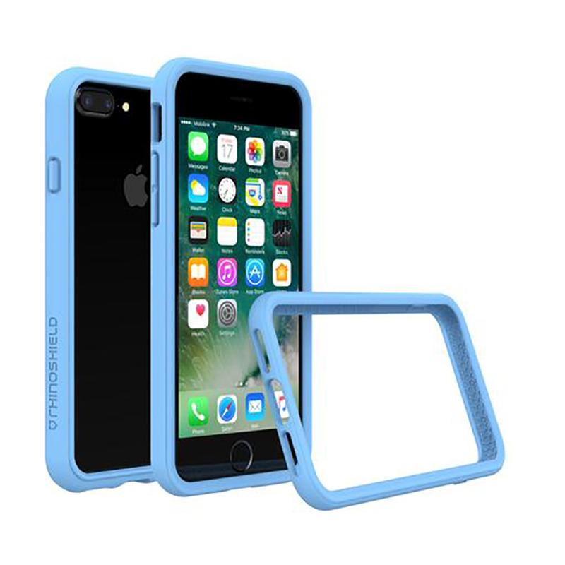犀牛盾 iPhone 7 Plus防摔邊框殼 北卡藍