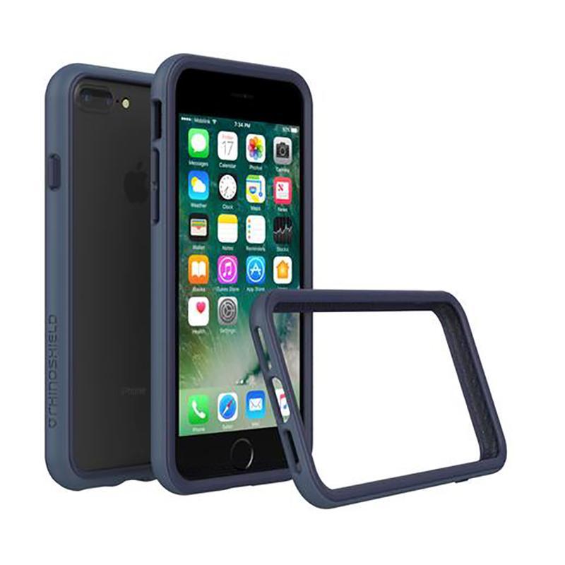 犀牛盾 iPhone 7 Plus防摔邊框殼 靛藍